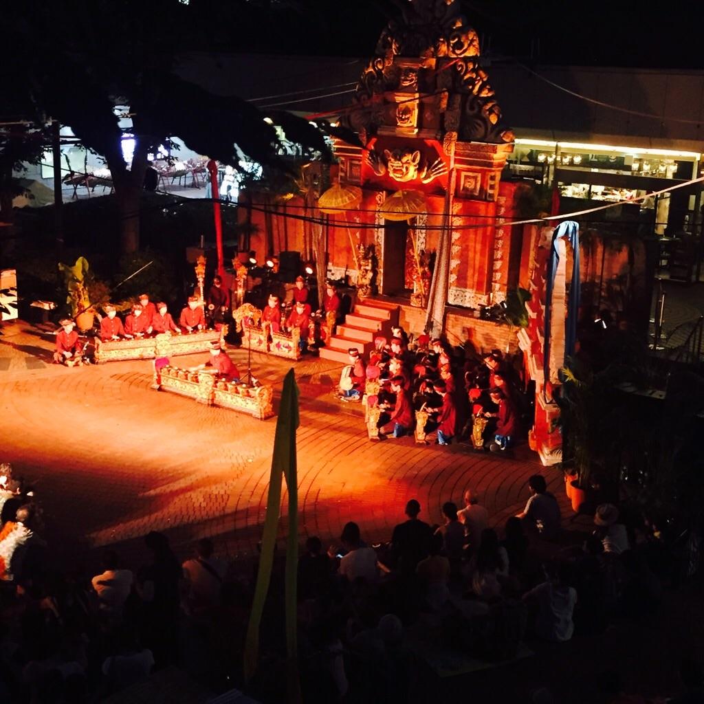 ケチャ祭り ガムラン演奏 写真