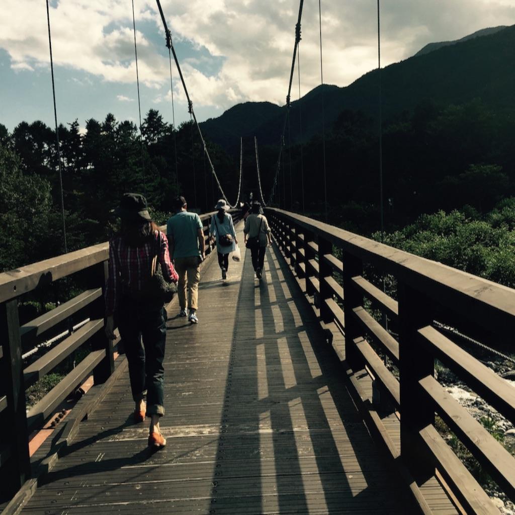 つり橋 写真