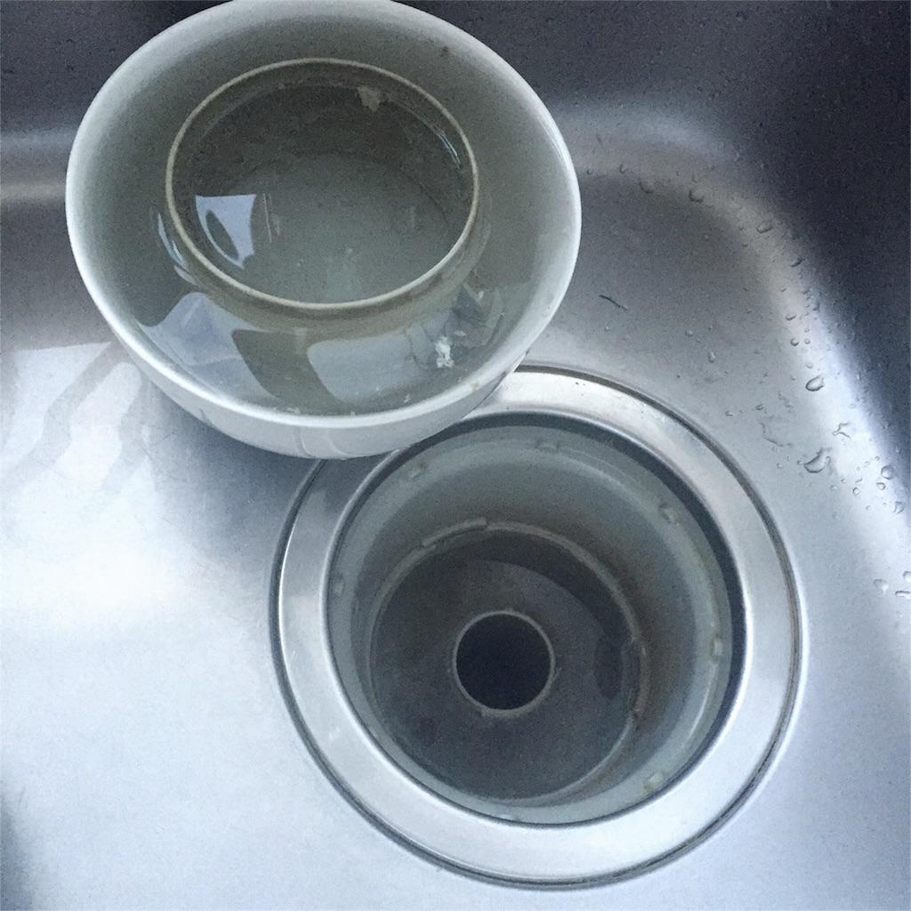 キッチン 排水溝 ぬめり 画像