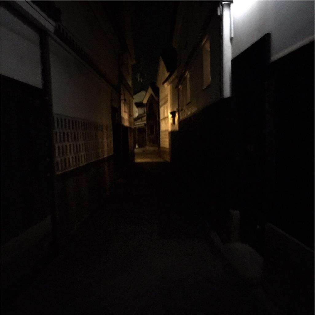 倉敷 美観地区 夜 写真