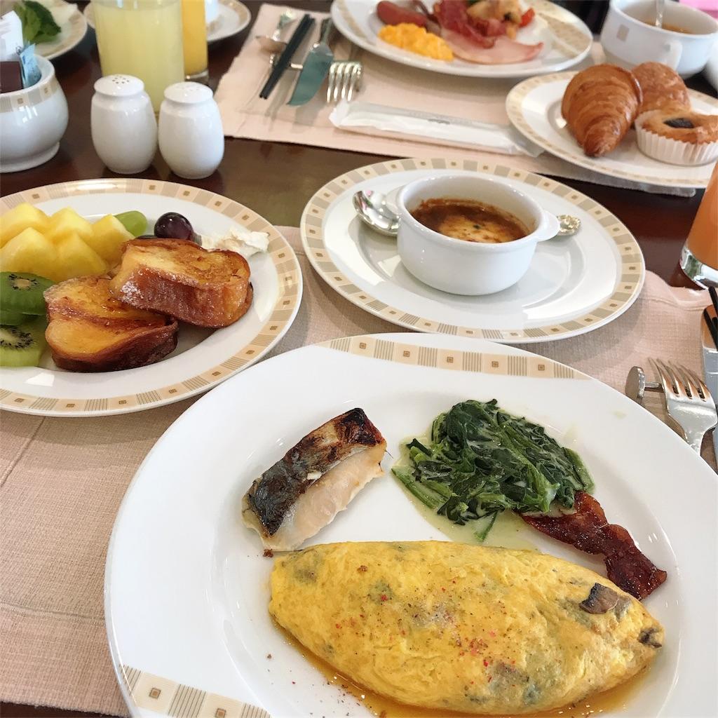 帝国ホテル ビュッフェ 朝食 写真
