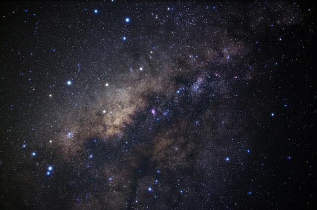 宇宙 天の川 写真