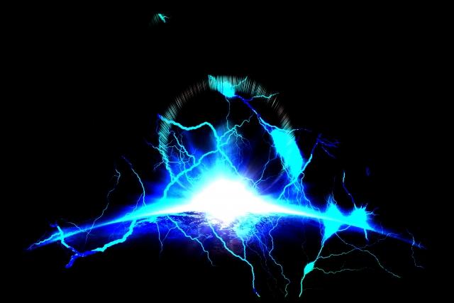 融合するエネルギー 写真