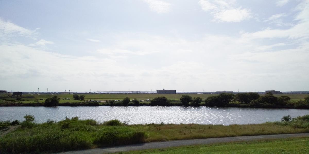 江戸川対岸