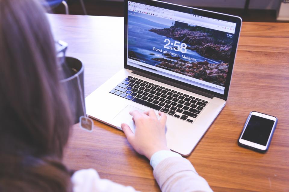 パソコンでブログ更新