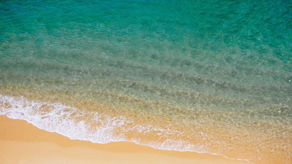 海透明度きれい