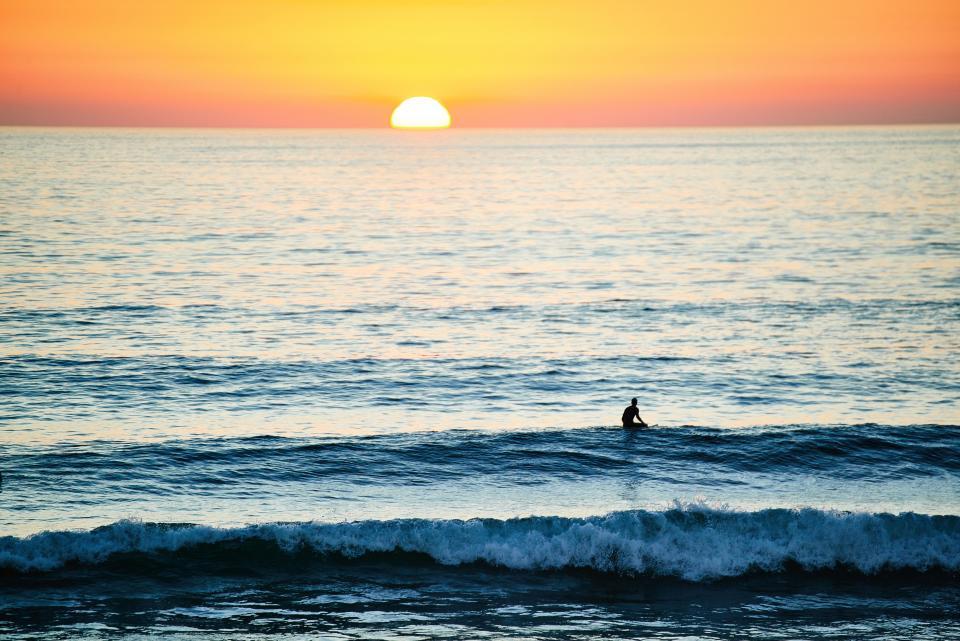 サーフィン サンセット
