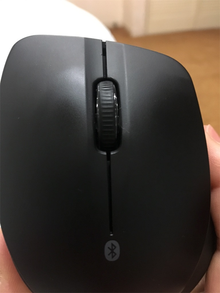 Bluetooth®3.0対応 BlueLEDマウス 静音/5ボタン BSMBB26S