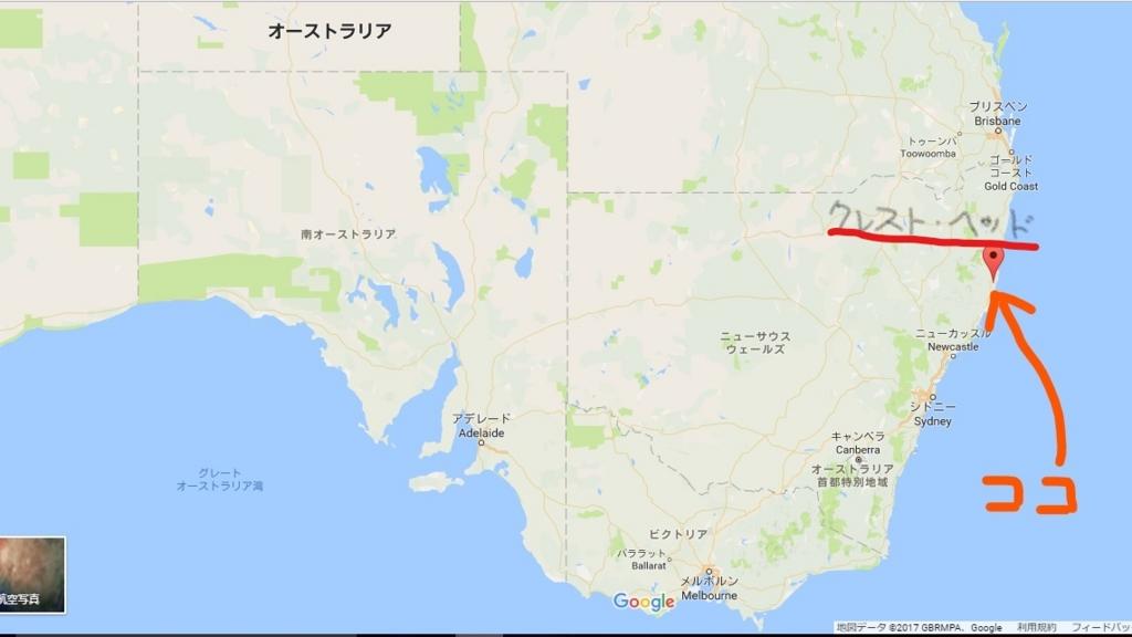 オーストラリア クレスト・ヘッド