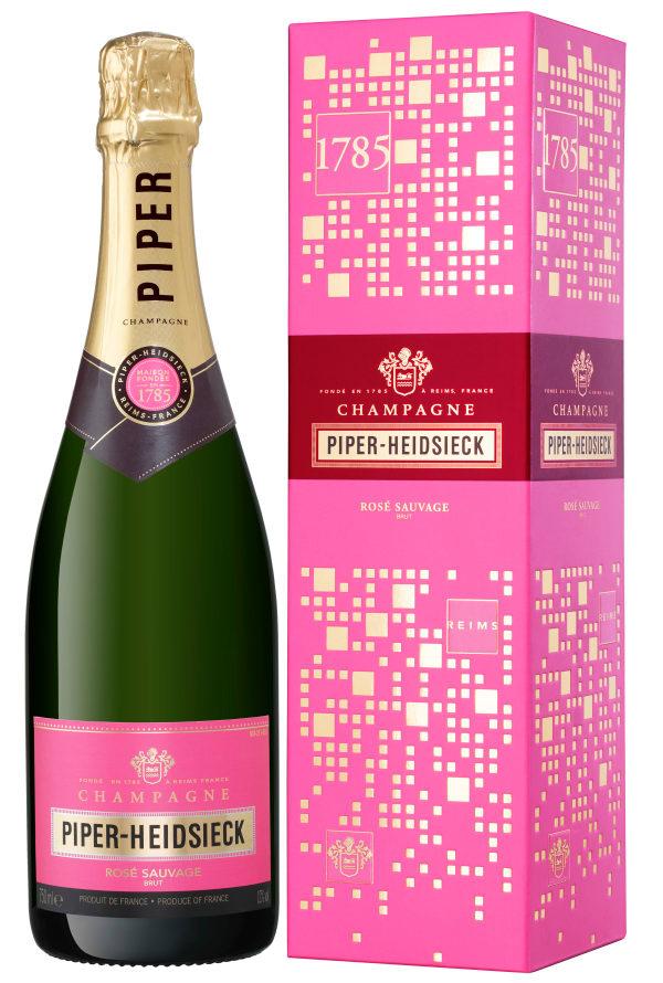 ロゼシャンパンはパイパー・エドシック PIPER-HEIDSIECKでした