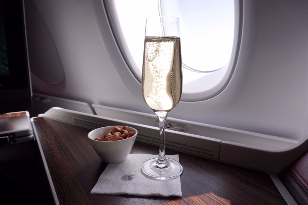 カタール航空ビジネスクラス搭乗記2017