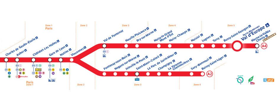 パリ地下鉄 マップ 路線図 アクセス