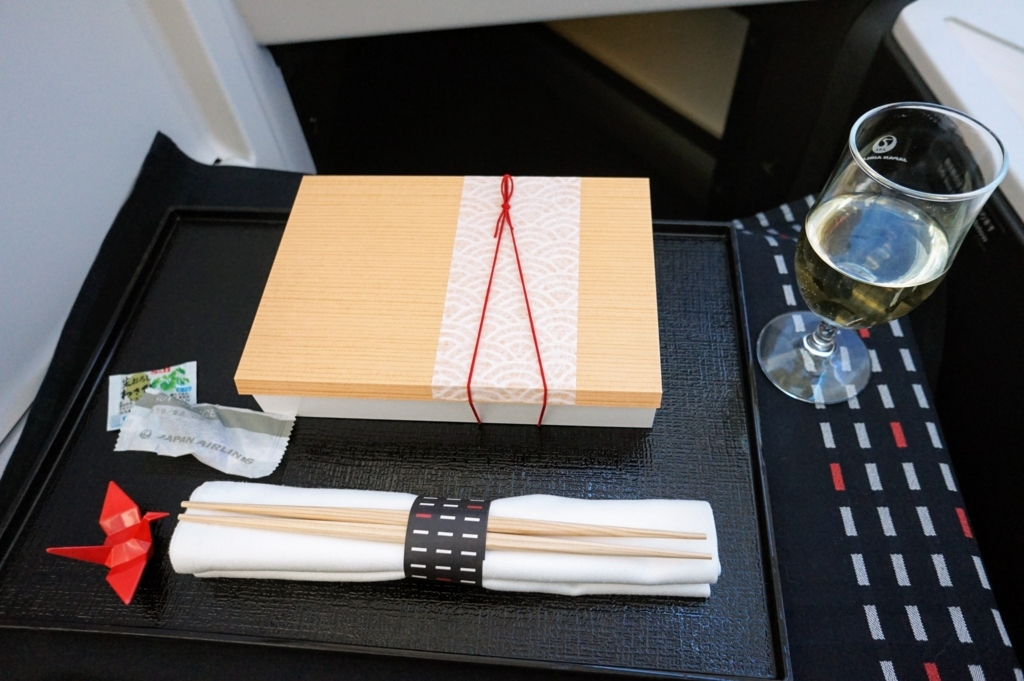 赤い鶴の箸置き