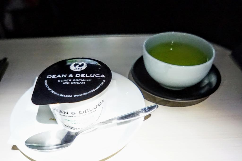 バニラアイスクリーム Dean and Deluca グリーンティ 緑茶