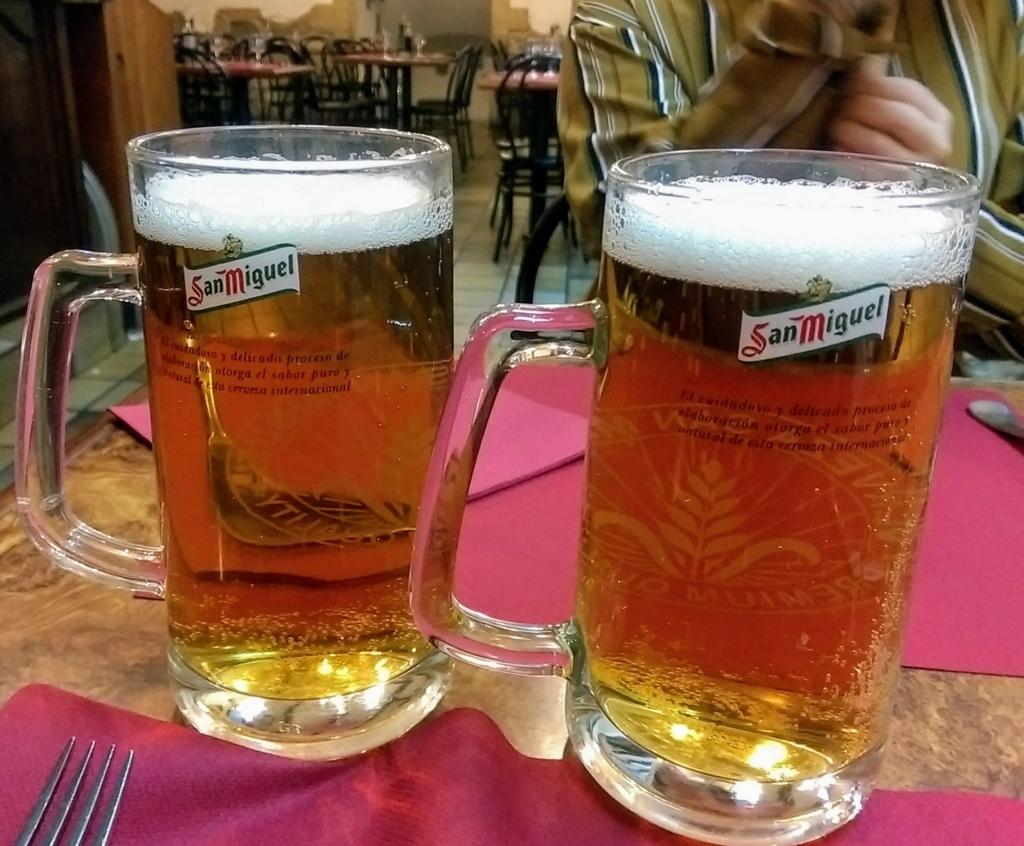 スペイン生ビール