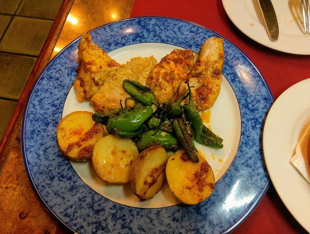 豚肉スペイン料理