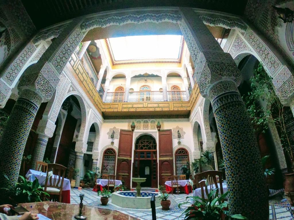 リヤドサラの中庭