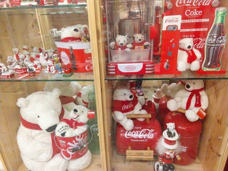 コカコーラ 白クマ ベア