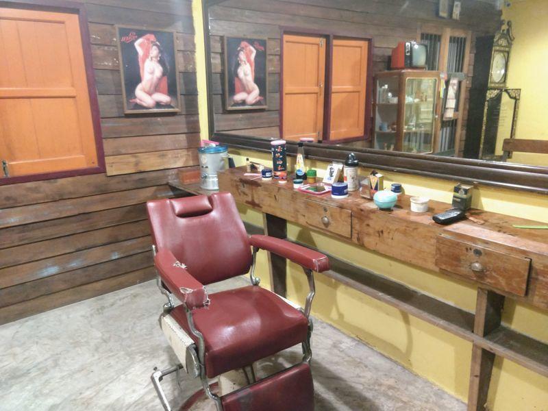 タイ 美容院 理容室