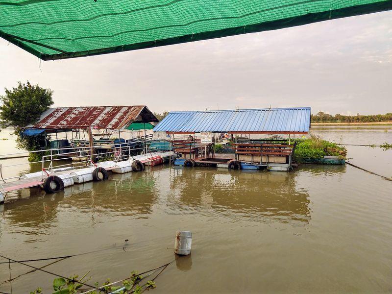チャオプラヤー川 レストラン