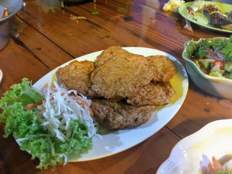 タイ料理 さつまあげ 魚