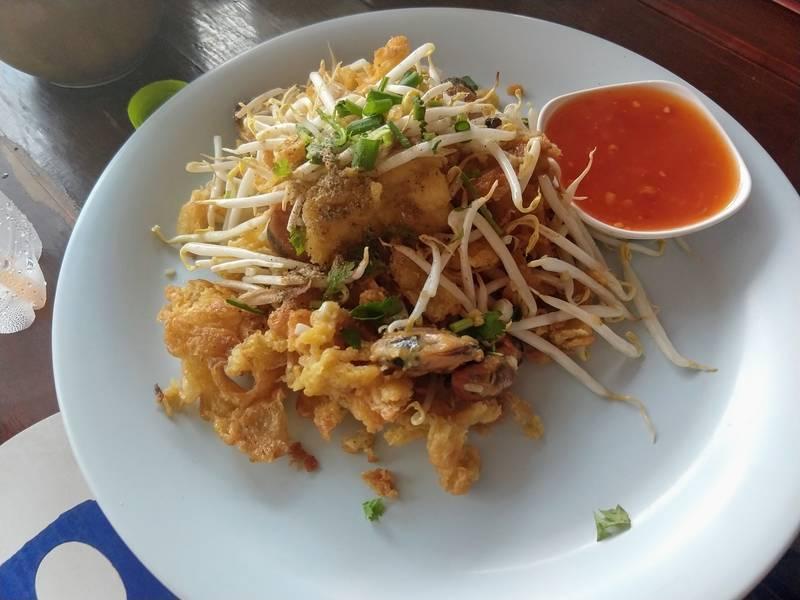 タイ 牡蠣 お好み焼き オースワン