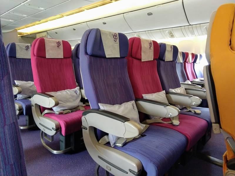 タイ航空 エコノミー 座席