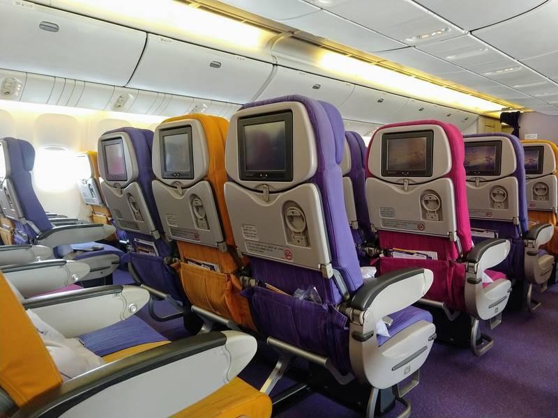 タイ航空 エコノミー 機材