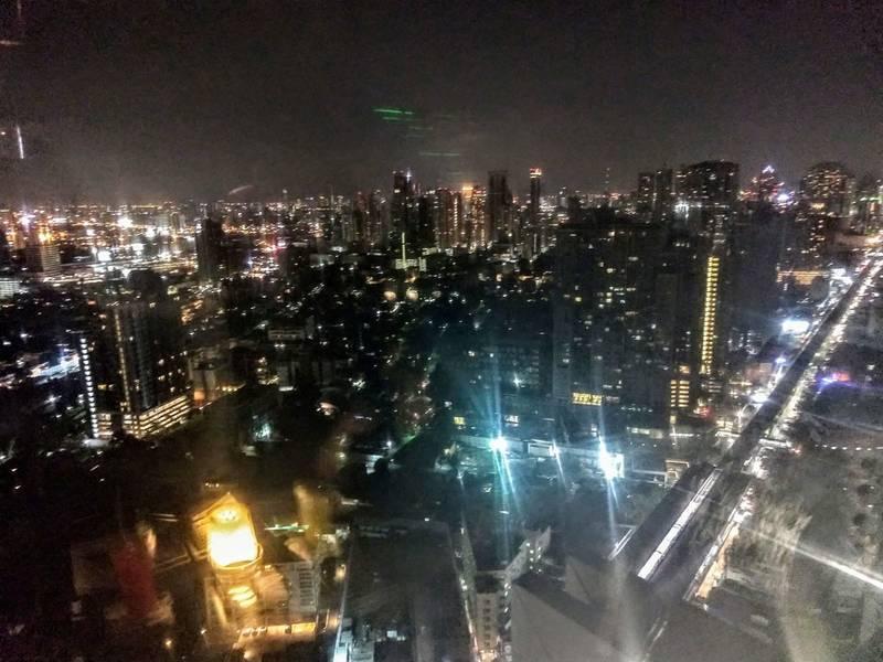 バンコク ホテル 夜景