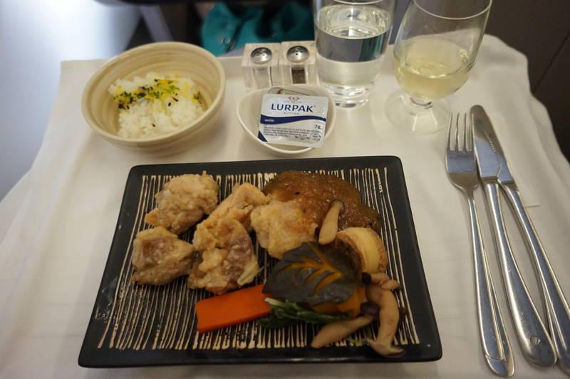 マレーシア航空 シェフオンコール 和食