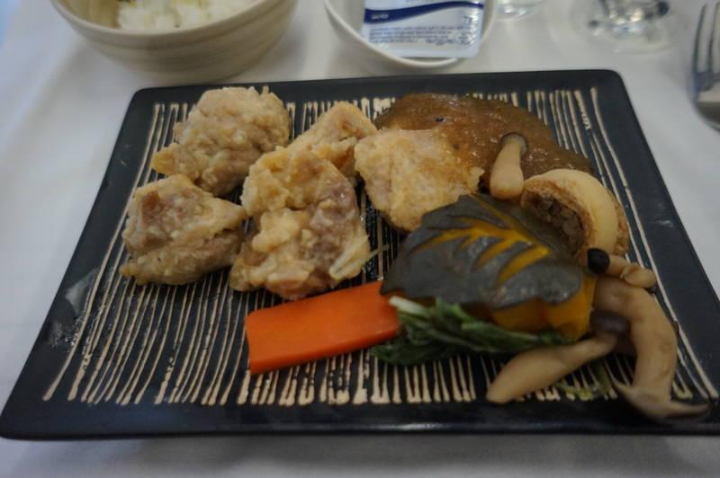 ビジネスクラス機内食 和食