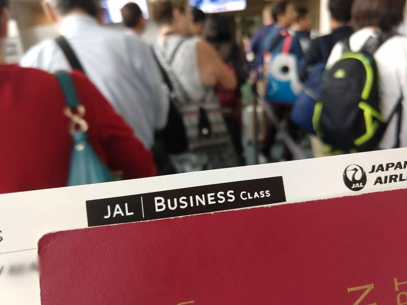 JAL ビジネスクラス アメリカ
