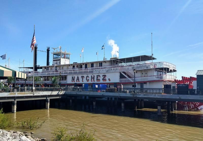 ミシシッピー川クルーズ 蒸気船