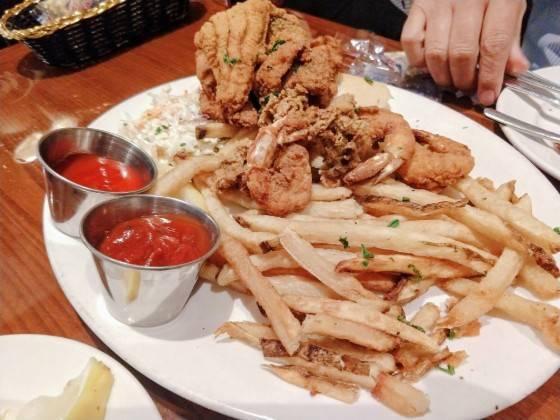 ポテト 白身魚