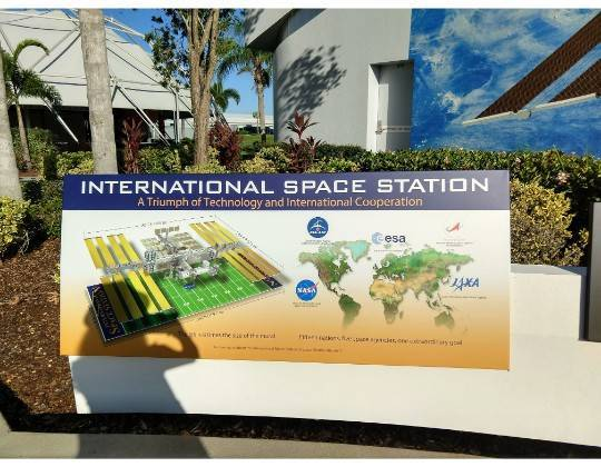ISS 国際宇宙センター