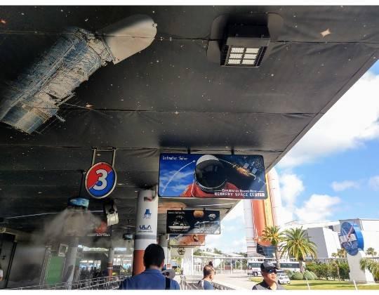 バスツアー NASA