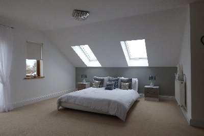 寝室 天窓