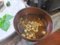 天かすを利用した味噌汁