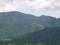 黒斑山のトーミ断層が見えている