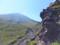鬼押出し溶岩流を登る