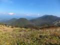 浅間・烏帽子火山群の溶岩ドーム郡