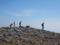 南峰のガレ場