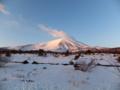 陽光にあたる浅間山