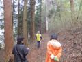 林道を通る