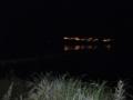 キャンプ場と湖