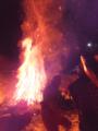 七福神と炎