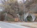 渓谷トンネル前