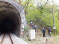 トンネルから上へ