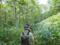 笹薮の中へ