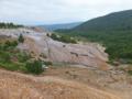 小串硫黄鉱山の風景